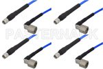 SMA Male To TNC Male Right Angle RF Test Cables