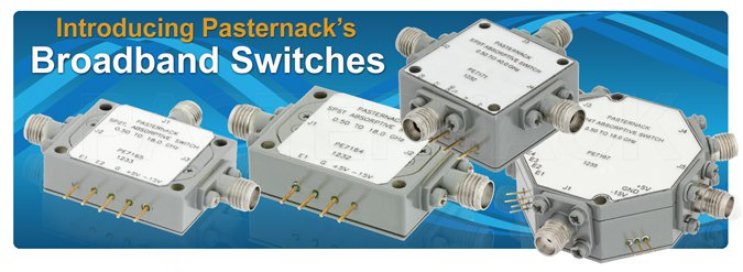 high frequency pin diode rf switches