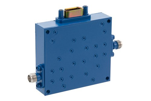 0 to 60 dB Voltage Variable Attenuator, PIN Diode, 6 GHz To 12 GHz, SMA