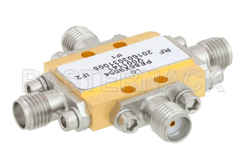 IQ Mixer Operating From 15 GHz to 23 GHz With an IF Range From DC to 3.5 GHz And LO Power of +17 dBm, Field Replaceable SMA