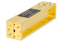 WR-19  Directional Waveguide Coupler UG-383/U 40 GHz to 60 GHz