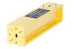 WR-22  Directional Waveguide Coupler UG-383/U 33 GHz to 50 GHz
