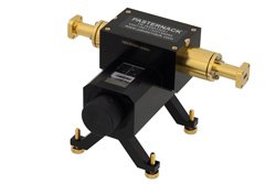 0 to 50 dB Waveguide Direct Read Attenuator, WR-28, From 26.5 GHz to 40 GHz, UG-599/U Flange