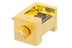 Waveguide Mixer Down Converter WR-10 From 75 GHz to 110 GHz, IF From DC to 18 GHz And LO Power of +13 dBm, UG-387/U Flange, W Band