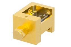 Waveguide Mixer Down Converter WR-28 From 26.5 GHz to 40 GHz, IF From DC to 18 GHz And LO Power of +13 dBm, UG-599/U Flange, Ka Band