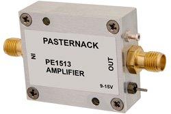 13 dBm P1dB, 10 MHz to 3 GHz, Gain Block Amplifier, 20 dB Gain, 2.7 dB NF, SMA