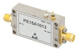 50 dB Gain, 28 dBm IP3, 1 dB NF, 18 dBm P1dB, 10 MHz to 1,000 MHz, Low Noise High Gain Amplifier SMA