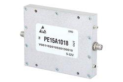 20 dBm P1dB, 500 MHz to 3 GHz, Low Noise Amplifier, 29 dB Gain, SMA