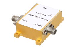27 dBm IP3, 4.5 dB NF, 17 dBm P1dB, 1.5 GHz to 5 GHz, Low Phase Noise Amplifier 14 dB Gain, SMA