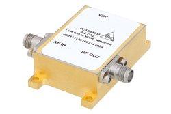25 dBm IP3, 14 dBm P1dB, 3 GHz to 8 GHz, Low Phase Noise Amplifier 11 dB Gain, SMA