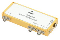 2 GHz to 6 GHz, Log Amplifier, 40 mV/dB Log Slope, 75 dBm Log Range, SMA