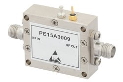 600 mW Psat 2 GHz to 24 GHz Medium Power Broadband Amplifier 12 dB Gain 35 dBm IP3 2.92mm