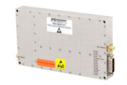45 dB Gain, 100 Watt Psat, 700 MHz to 2.7 GHz, High Power High Gain Amplifier, GaN, SMA