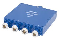 50 Ohm 4 Way N Wilkinson Power Divider From 690 MHz to 2.7 GHz Rated at 10 Watts