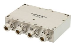 4 Way High Power Broadband Combiner From 2 GHz to 6 GHz Rated at 400 Watts, N