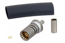 BMA Jack Snap-On Connector Crimp/Solder Attachment for RG316, RG188, RG174, PE-C100, LMR-100A