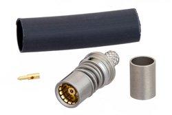 BMA Jack Snap-On Connector Crimp/Solder Attachment for RG142, RG223, RG400, RG55