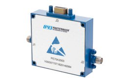0 to 60 dB Voltage Variable Attenuator, PIN Diode, 8 GHz To 18 GHz, SMA