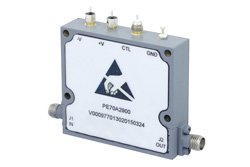 0 to 60 dB Voltage Variable Attenuator, PIN Diode, 500 MHz To 18 GHz, Rated To 0.1 Watts, SMA