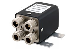 Transfer Electromechanical Relay Latching Switch, DC to 12 GHz, up to 430W, 12V, N