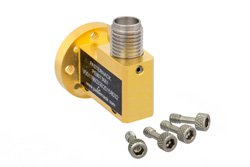 Zero Biased E Band Waveguide Detector, WR-12, Negative Video Out, 60 GHz to 90 GHz, UG-387/U
