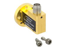 Zero Biased V Band Waveguide Detector, WR-15, Negative Video Out, 50 GHz to 75 GHz, UG-385/U
