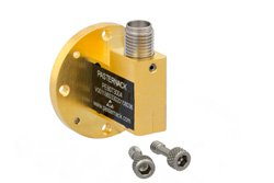 Zero Biased Q Band Waveguide Detector, WR-22, Negative Video Out, 33 GHz to 50 GHz, UG-383/U