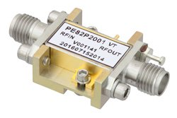 Analog Phase Shifter, 6 GHz to 15 GHz, With an Adjustable Phase of 120 Deg. Per GHz and SMA