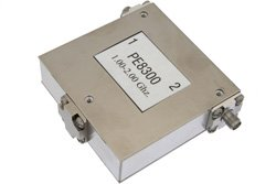 50 Ohm SMA Isolator Operating From 1 GHz to 2 GHz And 10 Watts With 18 dB Isolation