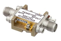 Frequency Divider, Divide by 10 Prescaler Module, 500 MHz to 18 GHz, Field Replaceable SMA