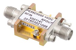 Frequency Divider, Divide by 5 Prescaler Module, 500 MHz to 8 GHz, Field Replaceable SMA