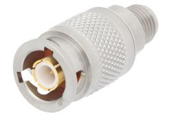 Precision SMA Female to ZMA Plug Adapter 3 Lug