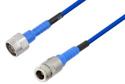 PE-TC195 Series Phase Stable Test Cable N Male to N Female to 18 GHz  ,RoHS
