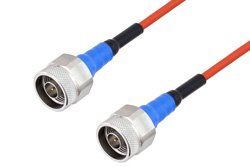 PE-TC151 Series Phase Stable Test Cable N Male to N Male to 18 GHz  ,RoHS