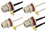 N to MCX Cable Assemblies