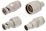 BNC 75 Ohm to Type N 75 Ohm Adapters