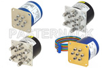 Low Power SP6T Terminated Electromechanical Relay Switches (<10 Watts)