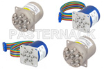 Medium Power SP6T Terminated Electromechanical Relay Switches