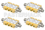 SPST TTL Controlled High Isolation RF Switches