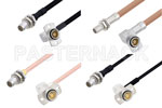 BMA Jack Right Angle to BMA Plug Cable Assemblies
