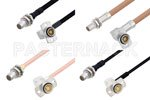 BMA Plug to BMA Jack Right Angle Cable Assemblies