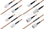 M17/128-RG400 Cable Assembly Hi-Rel MIL-SPEC RF Series
