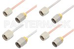 SMA to 2.4mm Cable Assemblies