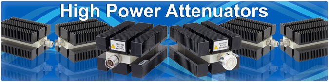 high power attenuators