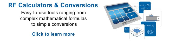 RF calculators and conversion tools