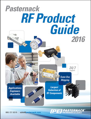 Pasternack 2016 RF Product Guide