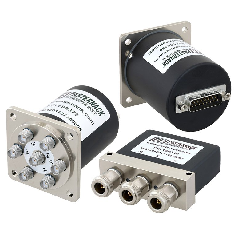 Electromechanical Switches with D-SUB Connectors from Pasternack