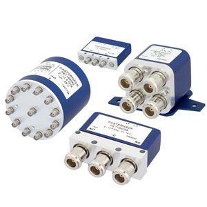 High-Rel Electromechanical Relay Switches from Pasternack