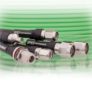 18 GHz Low Loss Test Cables from Pasternack