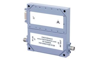 Pasternack's PE15A5025 GaN Power Amplifier Operates in the Popular 2 to 6 GHz Band